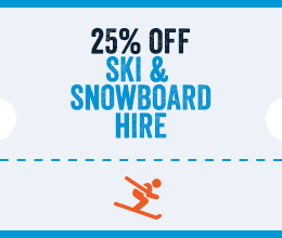 25% Off Ski Hire in Encamp
